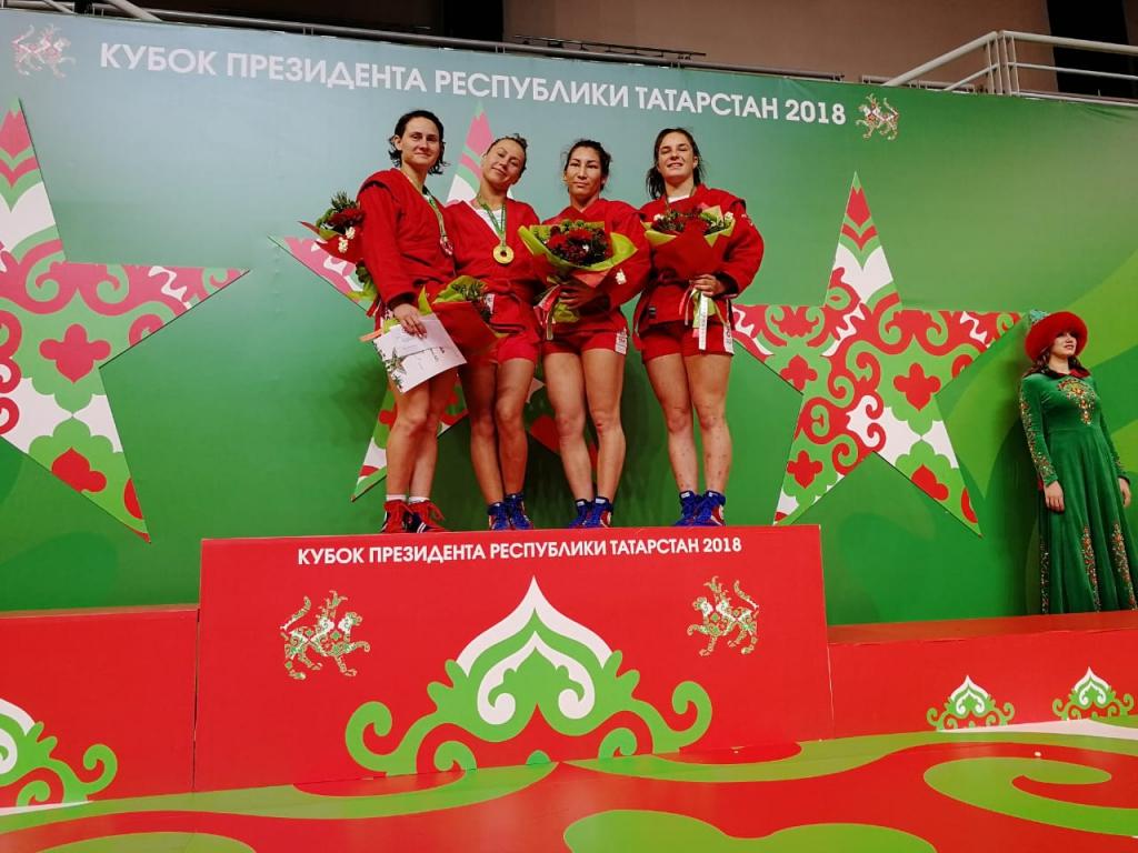 Новосибирские самбисты завоевали 5 медалей на турнире на призы президента Татарстана
