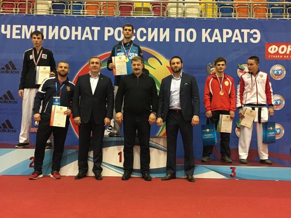 Чемпионат России по каратэ: новосибирцы собрали полный комплект медалей