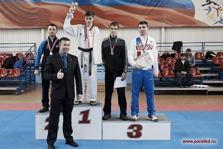 Аржан Арбаков – бронзовый призёр чемпионата Европы по паратхэквондо