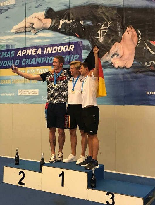 Чемпионат мира по апноэ: Алексей Казанцев завоевал «серебро» и побил рекорд России