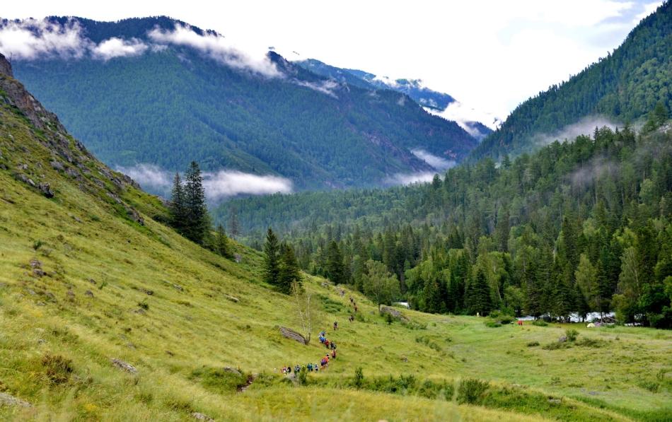 10 часов бегом по Алтаю: легкоатлет Юрий Тарасов пробежал ультра-трейл 71 километр