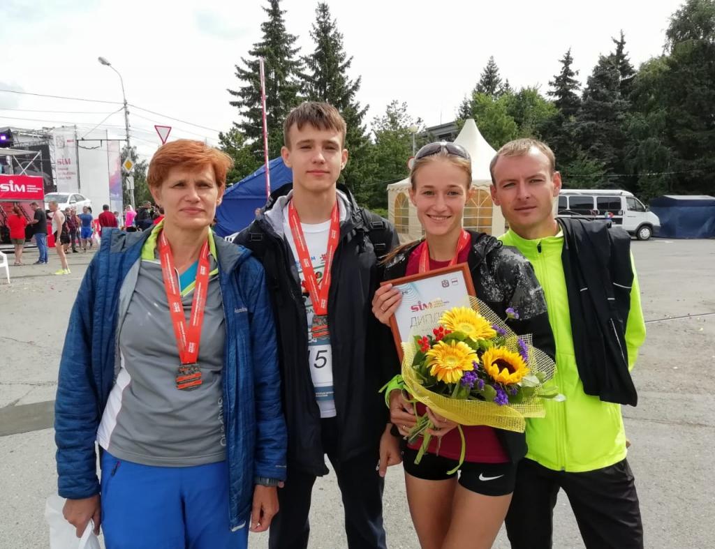 Наталья Тарасова стала призёром Сибирского международного марафона