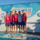 Евгений Кириллов стал серебряным призером чемпионата мира по пляжному волейболу (спорт глухих)