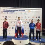 Новосибирец становится чемпионом Европы по паратхэквондо