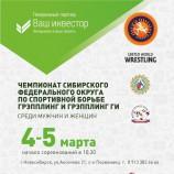 В Новосибирске пройдёт чемпионат округа по грэпплингу
