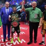 Михаил Алоян победно завершил свой второй профессиональный бой