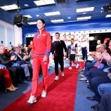 Новости моды: в Москве презентовали новую коллекцию формы для национальных сборных России