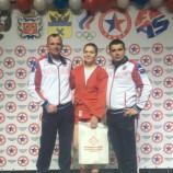 Олинда Храпунова – победительница первенства России по самбо