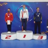 Сергей Суховей завоевал три медали чемпионата Европы по ушу