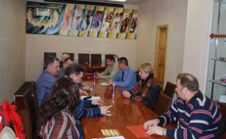 Заседание Совета Федерации плавания НСО