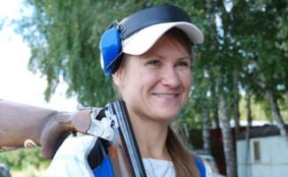 Надежда Коновалова выиграла финал Кубка России по стендовой стрельбе в упражнении скит