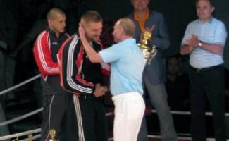 Виталий Мутко посетил открытый Чемпионат Европы по боям без правил в Сочи