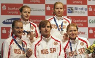 Юлия Гаврилова – серебряный призер чемпионата Европы в командных соревнованиях саблисток