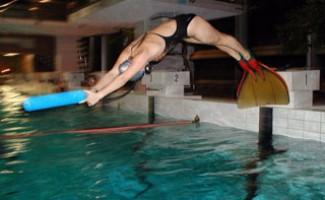 Россыпь медалей воспитанников НЦВСМ в плавании в ластах