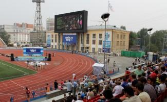 Прямая трансляция из Лондона: большой спорт на самом большом экране города