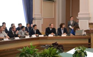 Чествование Олимпийцев в мэрии города Новосибирска.