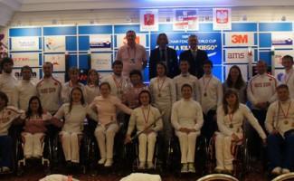 Александр Логутенко победитель Кубка мира по фехтованию на колясках