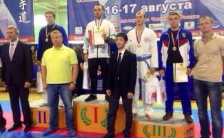 8 спортсменов Центра Высшего Спортивного Мастерства завоевали медали на чемпионате России по каратэ