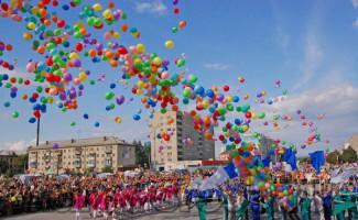 Олимпийцы чествуют именины города Бердска