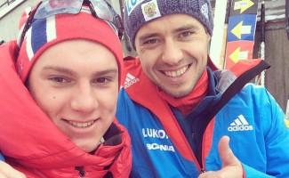Илья Черноусов победитель и бронзовый призер Альпийского кубка по лыжным гонкам