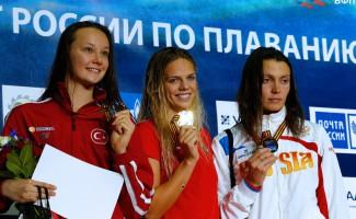 13 медалей новосибирских пловцов с чемпионата России