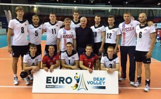 Новосибирские волейболисты – серебряные призеры чемпионата Европы!