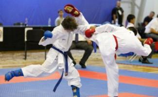 На первенстве России по каратэ новосибирцы завоевали 11 медалей разного достоинства