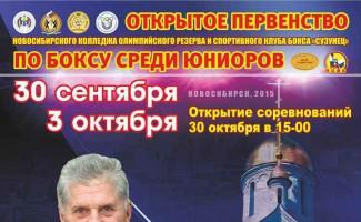 Турнир по боксу памяти Н.И. Дергунова пройдет в Новосибирске
