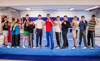 Новогодний Олимпийский урок с воспитанниками детских домов Новосибирской области