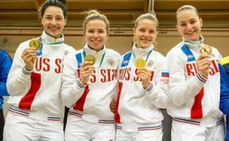 Саблисты Юлия Гаврилова и Вениамин Решетников завоевали награды на этапах Кубка мира