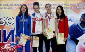 Новосибирская тхэквондистка - серебряный призер Первенства России