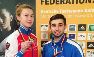 Новосибирские тхэквондисты завоевали две медали в Гамбурге