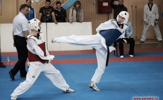 Новосибирский паратхэквондист завоевал золото Всероссийского турнира
