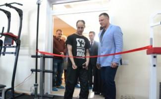 В Новосибирске открыли новый зал для спортсменов с ПОДА