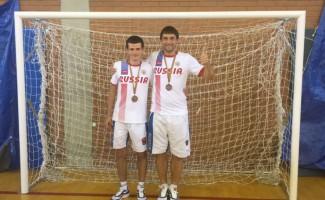 Чемпионат мира по футзалу среди слабовидящих: новосибирцы завоевали «бронзу»