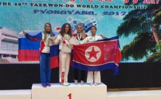 Найля Садиева – серебряный призёр чемпионата мира по тхэквондо ИТФ