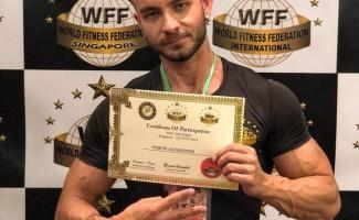 Новосибирец завоевывает серебро международного турнира Mr. Universe Championship (WFF)