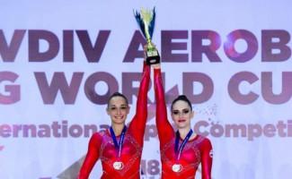 Екатерина Баранова - победитель Кубка мира по спортивной аэробике